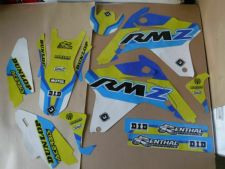 New RMZ 450 05-06 FLU PTS4 Graphics Sticker Decals Kit Motocross RMZ450